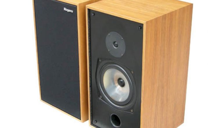 Image of Used  Rogers LS6 Bookshelf Speakers Black (Pre-Owned)  for sale