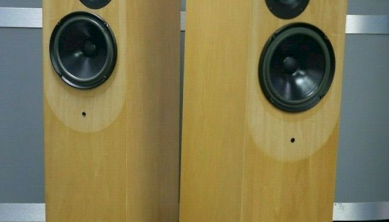 Image of Used  Living Voice Auditorium Floorstanding Speakers  for sale