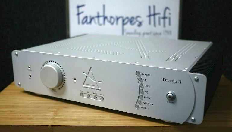 Image of Used  Leema Tucana II Integrated Amplifier  for sale