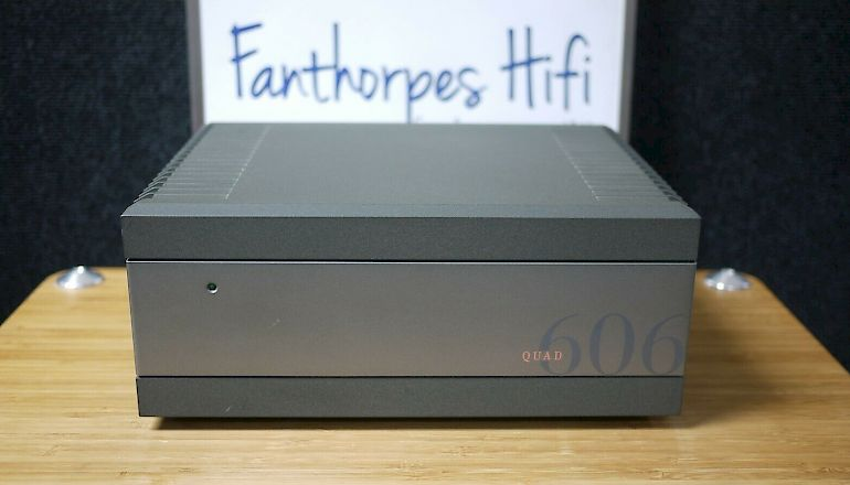 Image of Used  Quad 606 MKII Power Stereo Amplifier  for sale