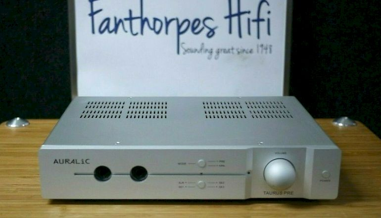 Image of Used  Auralic Taurus Pre-Amplifier  for sale