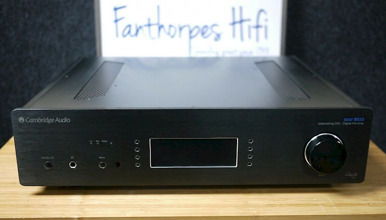 Image of Used  Cambridge Audio Azur 851D Digital Preamplifier DAC  for sale