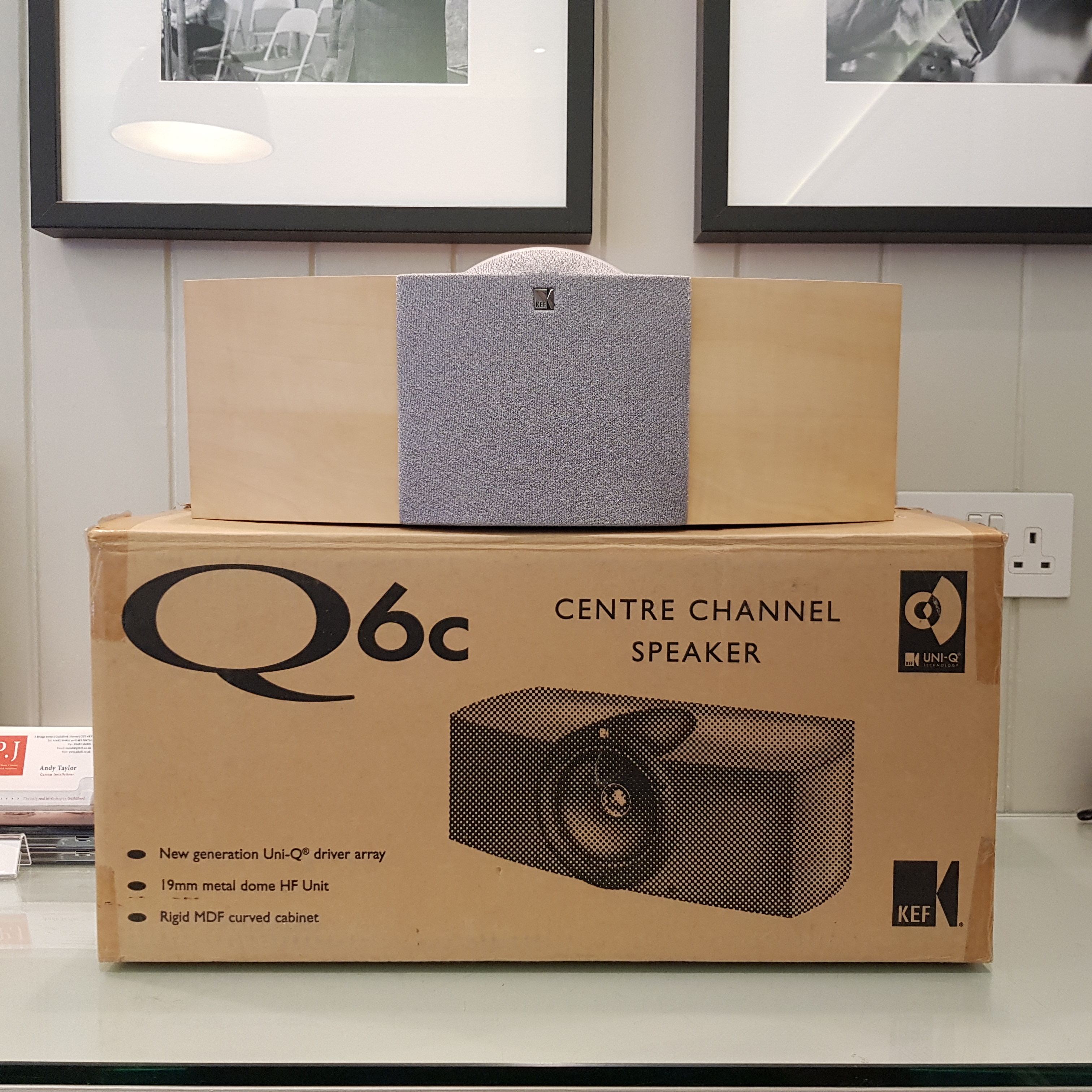 Picture of KEF Q6C