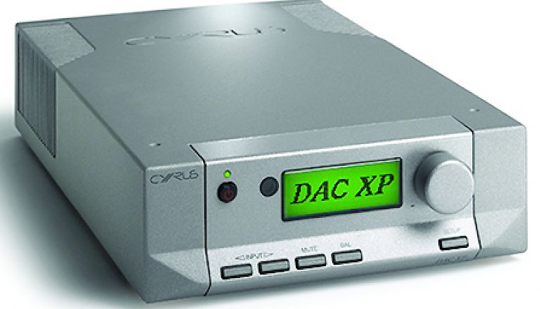 Image of Ex-demo  Cyrus DAC XP  for sale