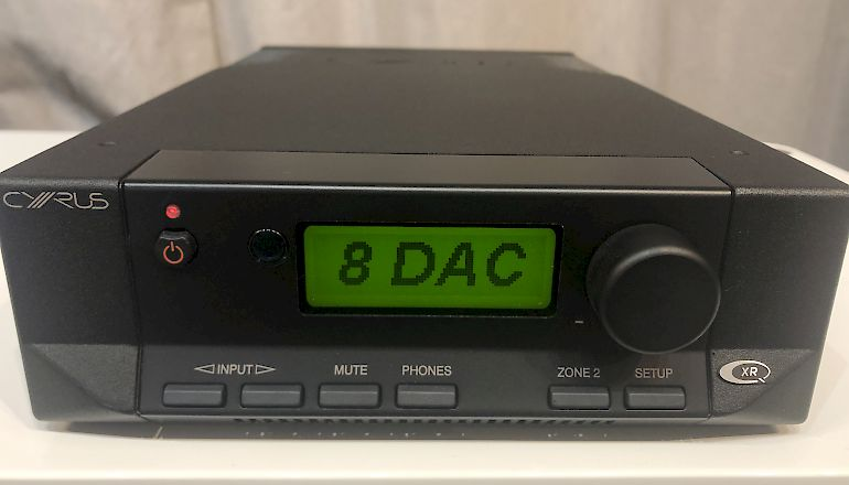 Image of Ex-demo  Cyrus 8 2 DAC QXR Integrated Amplifier and DAC  for sale