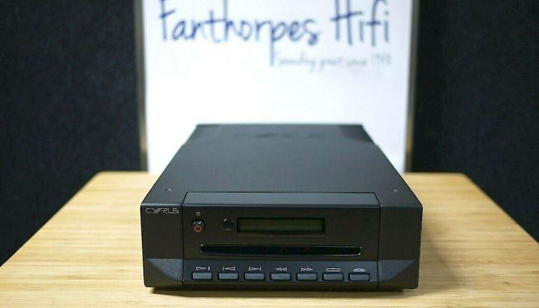 Image of Used  Cyrus CDi CD player  for sale