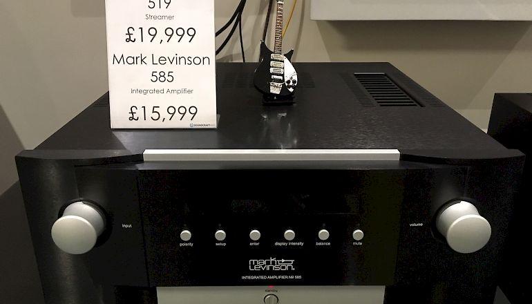 Image of Ex-demo  Mark Levinson ML 585  for sale