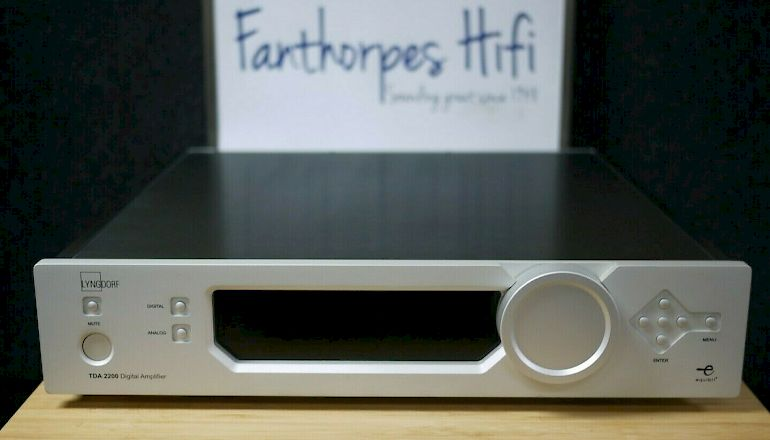 Image of Used  Lyngdorf TDA-2200 Digital Integrated Amplifier  for sale