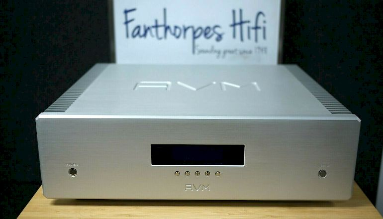 Image of Used  AVM Ovation SA6.2 Power Amplifier  for sale