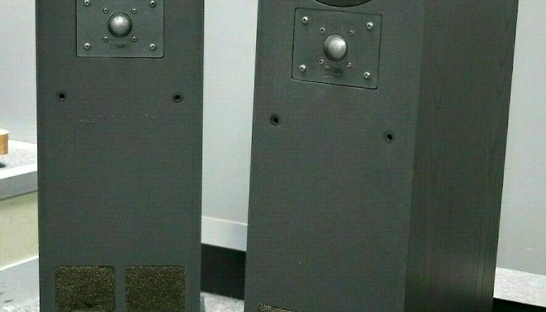 Image of Used  TDL Studio 1 Transmission Line Floorstanding Speakers  for sale