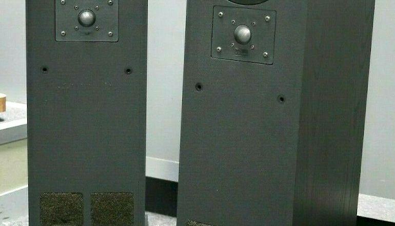 Image of Used  TDL Studio 1 Transmission Line Floorstanding Speakers  for sale