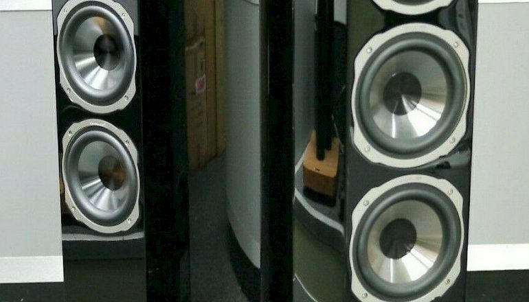 Image of Used  Quadral Audio Chromium Style 8 Floorstanding Speakers  for sale