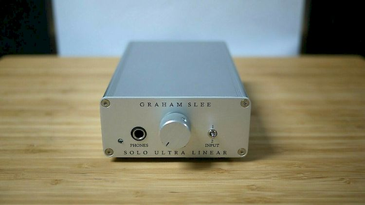 Image of Graham Slee Solo Ultra Linear Headphone Amplifier For sale at iDreamAV