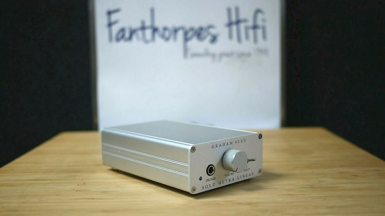 Thumbnail Image of Graham Slee Solo Ultra Linear Headphone Amplifier For sale at iDreamAV