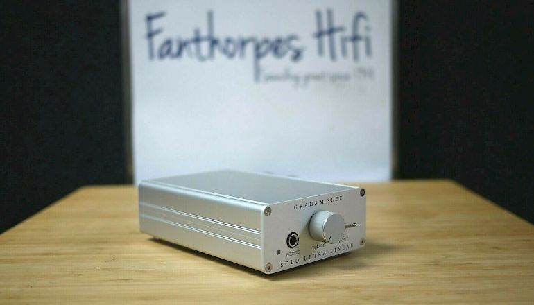 Image of Used  Graham Slee Solo Ultra Linear Headphone Amplifier  for sale