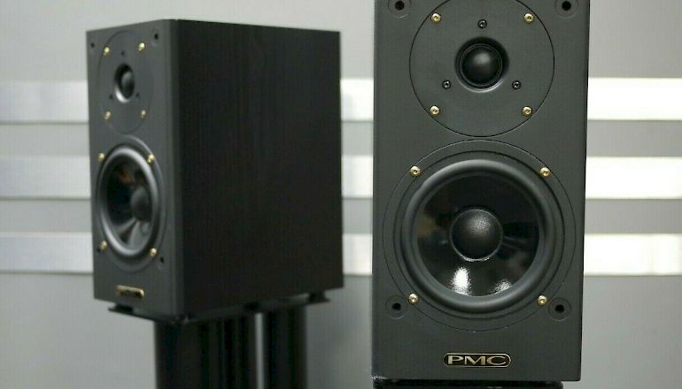 Image of Used  PMC DB1 Gold Standmount Speakers  for sale