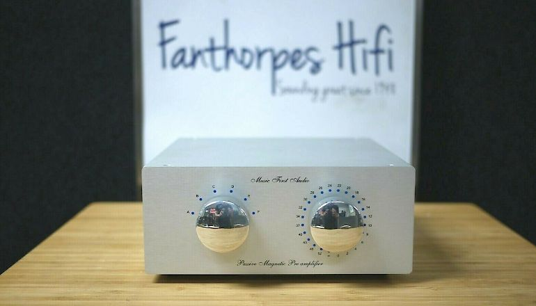 Image of Used  Music First Copper Classic Edition Passive Pre-Amplifier  for sale