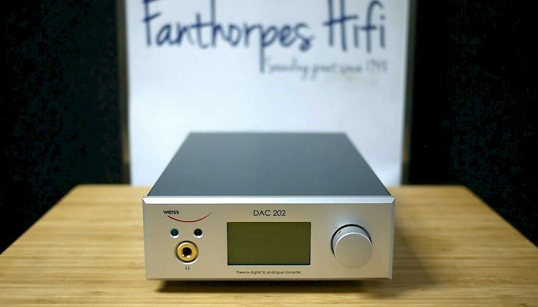 Image of Used  Weiss Engineering DAC 202 24bit 192kHz USB DAC  for sale