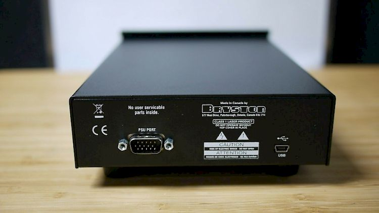 Image of Bryston BOT-1 Optical CD Transport For sale at iDreamAV