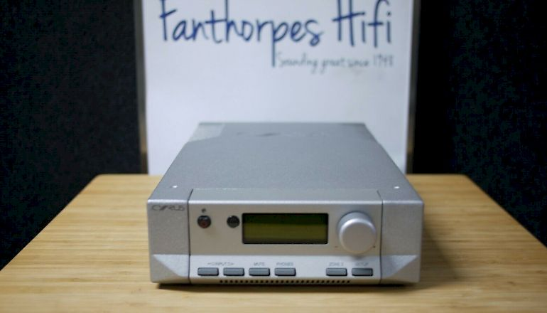 Image of Used  Cyrus Pre 2 DAC & Pre Amplifier  for sale