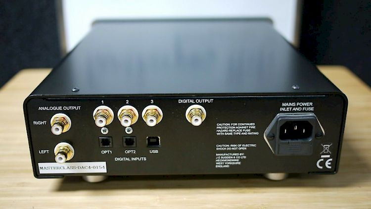 Image of Sugden Masterclass DAC-4 Digital to Analogue Converter For sale at iDreamAV