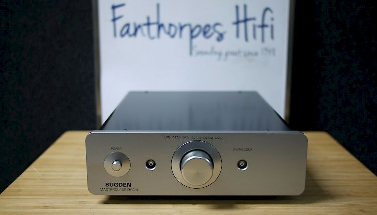 Image of Used  Sugden Masterclass DAC-4 Digital to Analogue Converter  for sale