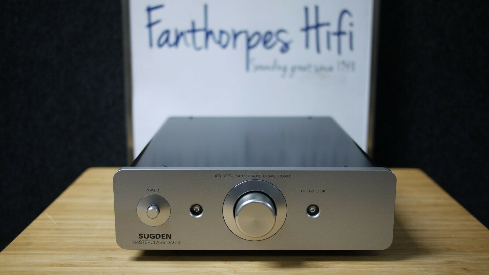 Picture of Sugden Masterclass DAC-4 Digital to Analogue Converter