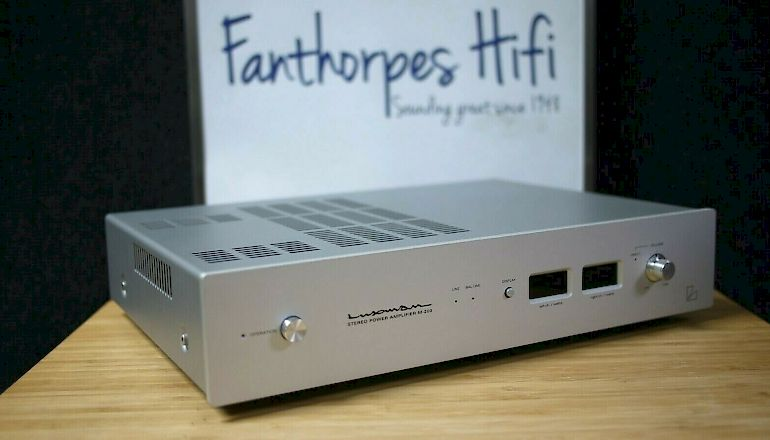 Image of Used  Luxman M-200 Stereo Power Amplifier  for sale
