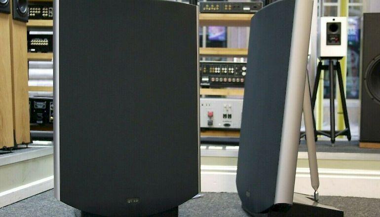 Image of Used  Quad ESL-2805 Electrostatic Speakers  for sale