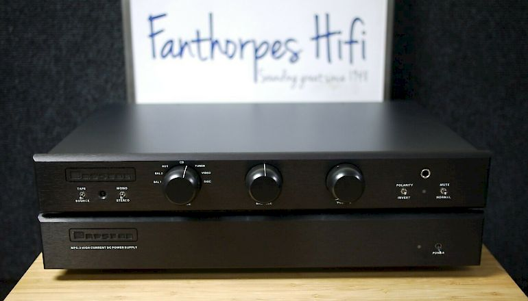 Image of Used  Bryston BP26 Pre-Amplifier + MPS-2 Power Supply  for sale