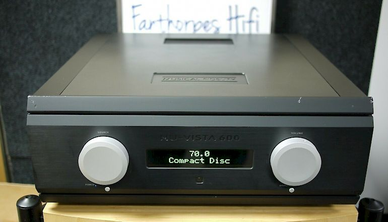 Image of Used  Musical Fidelity Nu-Vista 600 Integrated Amplifier  for sale
