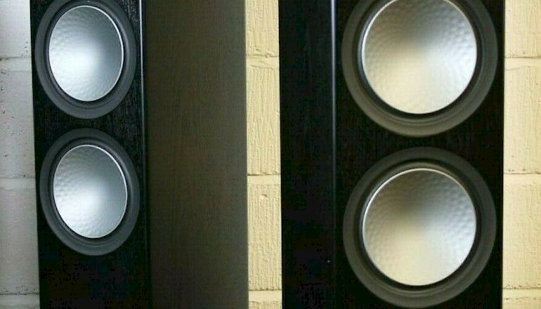 Image of Used  Monitor Audio Silver 500 Floorstanding Speakers  for sale