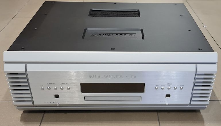 Image of Ex-demo  Musical Fidelity NuVista CD player  for sale