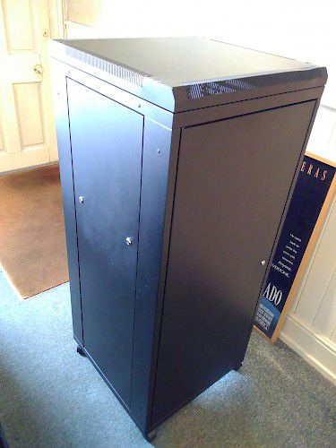 "Image of Canford 27U 19"" Free Standing Rack Cabinet For sale at iDreamAV"