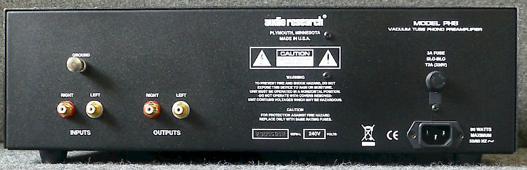 Image of Audio Research PH8 Hybrid tube FET phono preamplifier For sale at iDreamAV