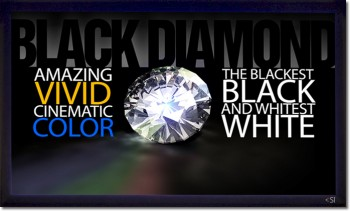"Picture of Screen Innovations Black Diamond II HD 1.4 'Daylight' ALR 88"" Screen"