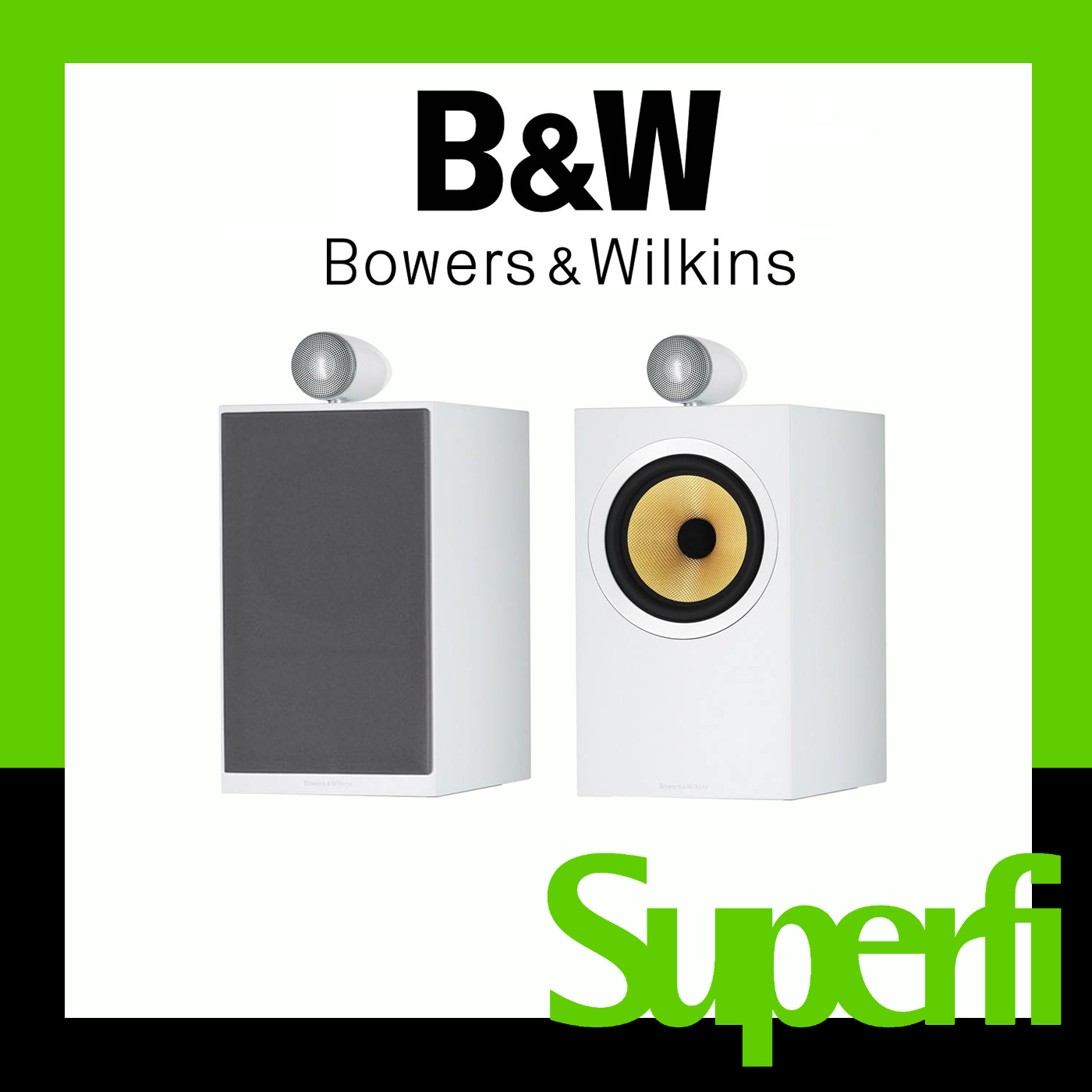 Picture of Bowers & Wilkins CM6 Speakers (Pair)