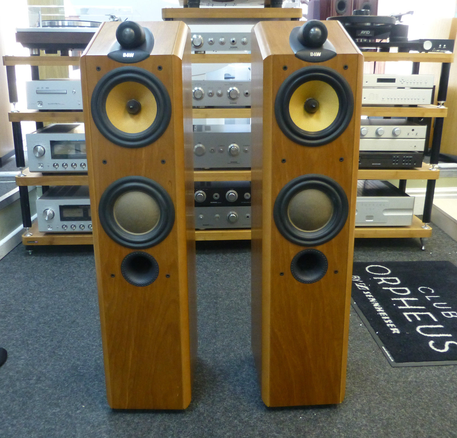 Picture of Bowers and Wilkins CDM 7NT Floorstanding speakers