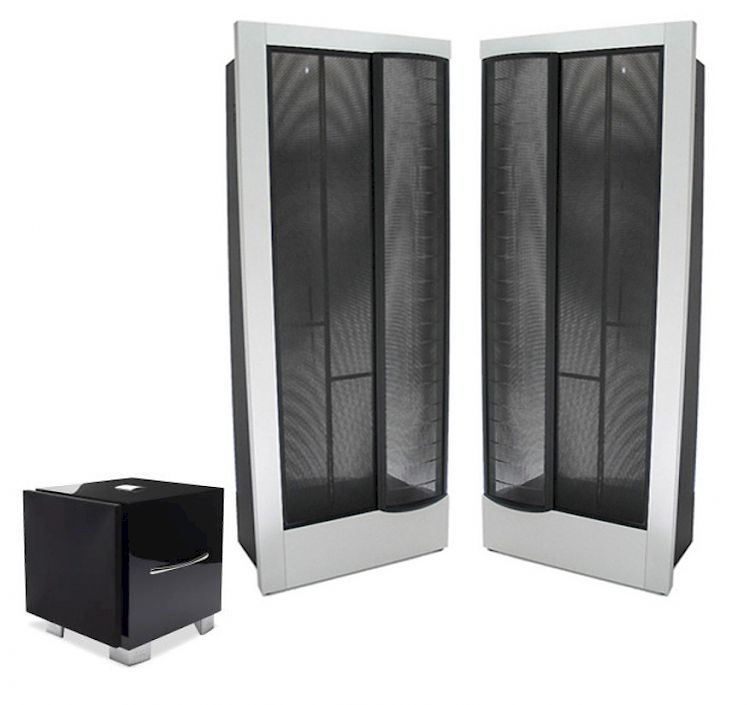 Thumbnail Image of Martin Logan CLX Anniversary Including REL S3 SHO Subwoofer For sale at iDreamAV