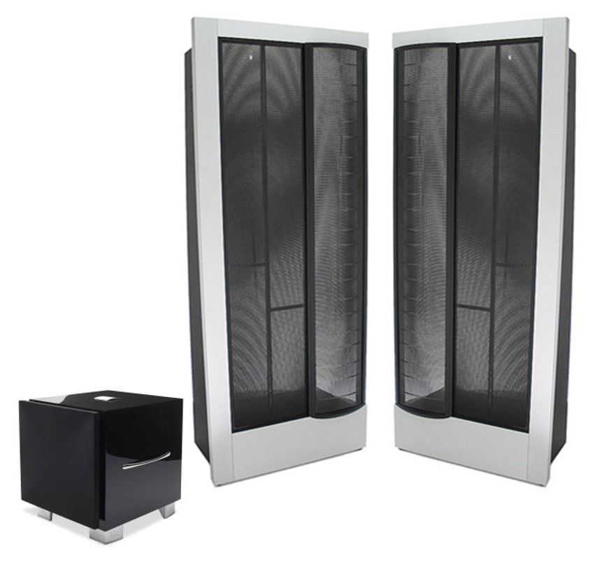 Picture of Martin Logan CLX Anniversary Including REL S3 SHO Subwoofer