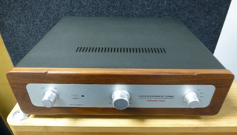 Image of Used  Trafomatic Reference One Vacuum Tube Pre-Amplifier  for sale