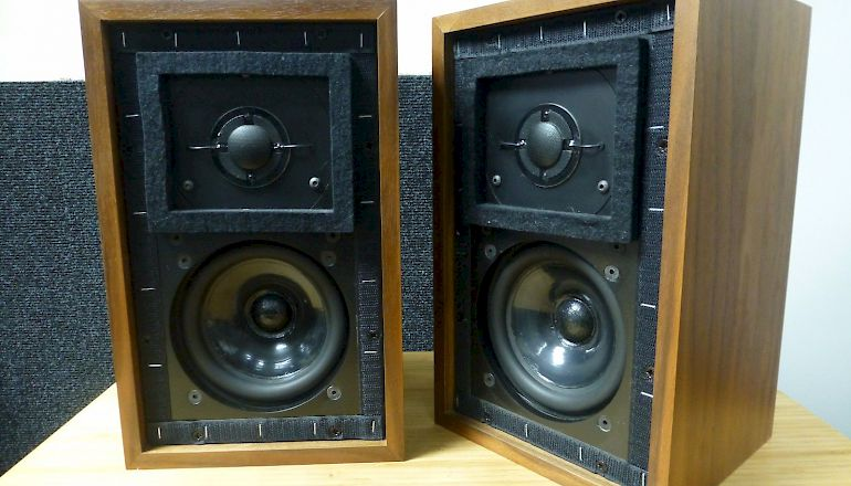Image of Used  Falcon BBC LS3/5A Standmount Speakers  for sale