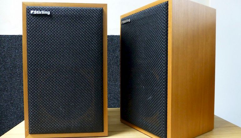 Image of Used  Stirling Broadcast LS3/5a V2 BBC Licensed Standmount Speakers  for sale